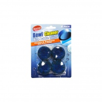 Amoray Bowl Cleaner Blue Tabs 4 Pack