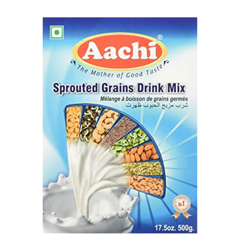 Aachi Sprouted Grains Drink Mix 500g
